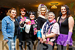 Marie O'Shea, Noelle McCoy, Mary Appleby, Jacinta Powell, Catherine Casey and Vicky Wilson from Tralee at the 80's Disco fundraiser in aid of Kerry/Cork Health Link Bus in the Rose Hotel on Friday night.