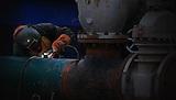 CPF2 construccion y ampliacion de los paquetes de agua.Modificacion Licencia Ambiental Campo Rubiales.Puerto Gaitan, Meta, Colombia.13/06/2012.10:50:30 a.m..N3°46.675'.W71°26.926'..Copyright Archivolatino Corp