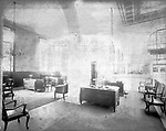 Frederick Stone negative Interior of New Citizens & Mfrs. Bank Building 1925.