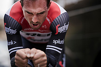 john DEGENKOLB (DEU/Trek-Segafredo) warming up for Stage 5 (ITT): Barbentane to Barbentane (25km)<br /> 77th Paris - Nice 2019 (2.UWT)<br /> <br /> ©kramon