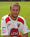 Joel Byrom of Stevenage at the Stevenage FC team photo shoot at The Lamex Stadium, Broadhall Way, Stevenage on Saturday, 24th July, 2010.© Kevin Coleman 2010