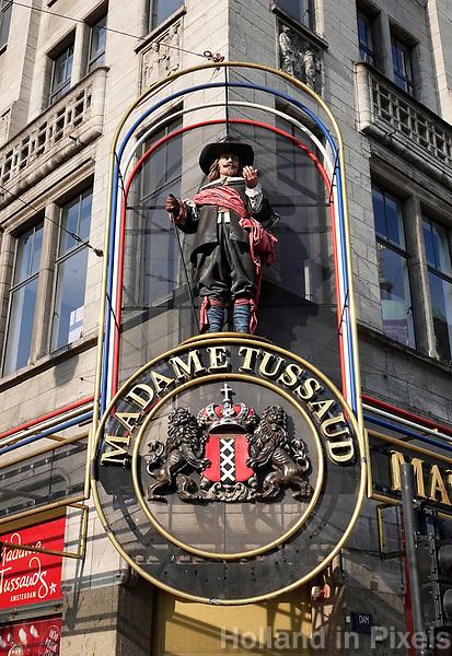 Nederland - Amsterdam - 2018.   Madame Tussauds aan de Dam.   Foto Berlinda van Dam / Hollandse Hoogte.