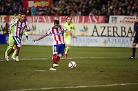 Atletico de Madrid´s Raul Garcia during 2014-15 Spanish King Cup match between Atletico de Madrid and Barcelona at Vicente Calderon stadium in Madrid, Spain. January 28, 2015. (ALTERPHOTOS/Luis Fernandez) /nortephoto.com<br />