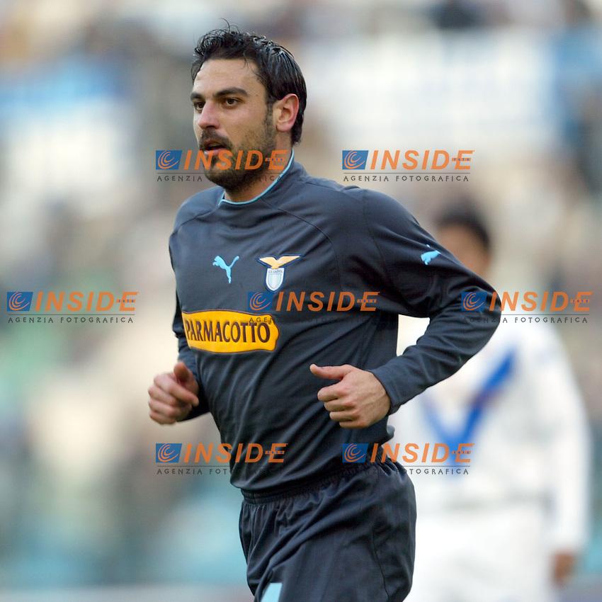 Roma 11/1/2004 <br /> Lazio Brescia 0-1 <br /> Stefano Fiore<br /> Photo Andrea Staccioli Insidefoto