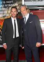 08 October 2017 - Los Angeles, California - Taylor Kitsch and Jeff Bridges. &ldquo;Only The Brave&rdquo; Premiere held at the Regency Village Theatre in Los Angeles. <br /> CAP/ADM<br /> &copy;ADM/Capital Pictures