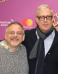 Marc Shaiman and Scott Wittman attend the ''Charlie and the Chocolate Factory' Cast Photo Call at the New 42nd Street Studios on February 21, 2017 in New York City.