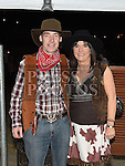 Fergus and Marie Flanagan pictured at the barn dance in aid of Ballapousta National School at Oberstown Farm. Photo:Colin Bell/pressphotos.ie