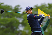 Azahara Munoz (ESP) watches her tee shot on 3 during the round 1 of the KPMG Women's PGA Championship, Hazeltine National, Chaska, Minnesota, USA. 6/20/2019.<br /> Picture: Golffile | Ken Murray<br /> <br /> <br /> All photo usage must carry mandatory copyright credit (© Golffile | Ken Murray)