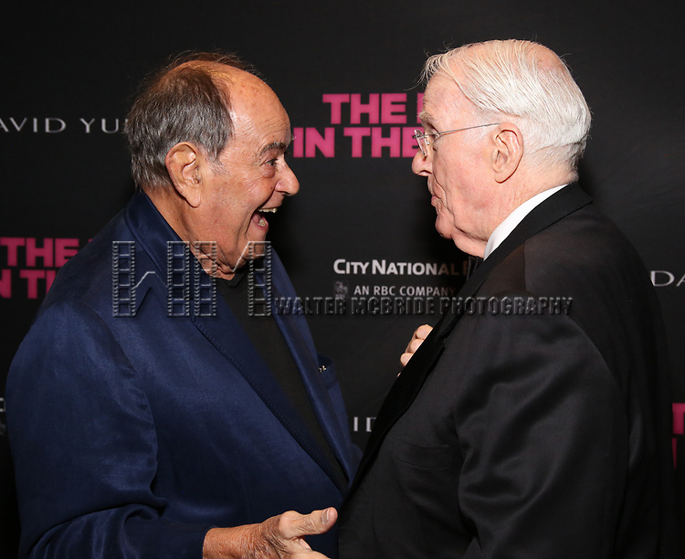 Laurence Luckinbill and Peter White attends the 'The Boys In The Band' 50th Anniversary Celebration at The Second Floor NYC on May 30, 2018 in New York City.