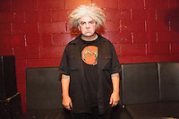 Buzz Osborne of The Melvins is interviewed at Santos Party House in New York City by David Leigh Abts and Marshall Johnson on June 30, 2015.