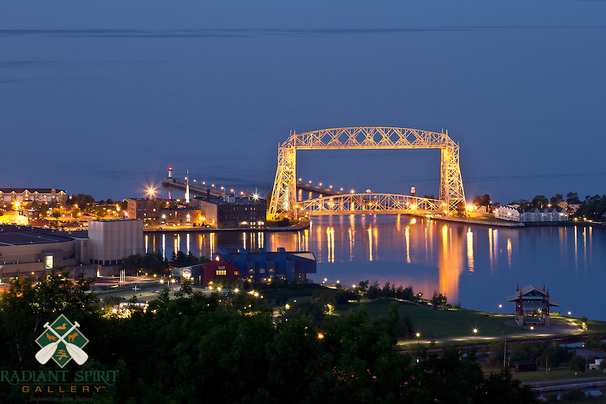 &quot;Aerial Lift Bridge Illumination&quot;<br />