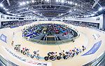 Riders compete on Men's Omnium Elimination during the 2017 UCI Track Cycling World Championships on 15 April 2017, in Hong Kong Velodrome, Hong Kong, China. Photo by Chris Wong / Power Sport Images