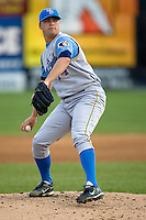 Cordier, Erik 1554.jpg. Carolina League Myrtle Beach Pelicans at the Frederick Keys at Harry Grove Stadium on May 13th 2009 in Frederick, Maryland. Photo by Andrew Woolley.