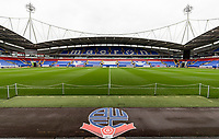 A general view of the University of Bolton stadium<br /> <br /> Photographer Andrew Kearns/CameraSport<br /> <br /> The EFL Sky Bet Championship - Bolton Wanderers v Coventry City - Saturday 10th August 2019 - University of Bolton Stadium - Bolton<br /> <br /> World Copyright © 2019 CameraSport. All rights reserved. 43 Linden Ave. Countesthorpe. Leicester. England. LE8 5PG - Tel: +44 (0) 116 277 4147 - admin@camerasport.com - www.camerasport.com
