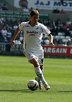 ATTENTION SPORTS PICTURE DESK<br /> Pictured: Andrea Olrandi of Swansea<br /> Re: Coca Cola Championship, Swansea City FC v Bristol City FC at the Liberty Stadium Swansea, south Wales. Saturday 18 April 2009.<br /> Picture by D Legakis Photography / Athena Picture Agency, Swansea 07815441513