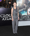 Zhou Xun at The Warner Bros. Pictures L.A. Premiere of Cloud Atlas held at The Grauman's Chinese Theatre in Hollywood, California on October 24,2012                                                                               © 2012 Hollywood Press Agency