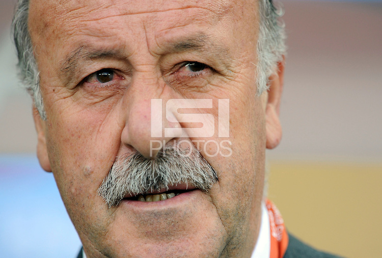 The manager of Spain Vincente Del Bosque