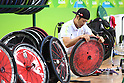 General view, <br /> SEPTEMBER 18, 2016 - WheelChair Rugby : <br /> 3rd place match Japan - Canada  <br /> at Carioca Arena 1<br /> during the Rio 2016 Paralympic Games in Rio de Janeiro, Brazil.<br /> (Photo by AFLO SPORT)