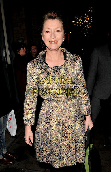 Lesley Manville attends the &quot;Les Liaisons Dangereuses&quot; press night, Donmar Warehouse, Earlham Street, London, UK, on Thursday 17 December 2015.<br /> CAP/CAN<br /> &copy;Can Nguyen/Capital Pictures