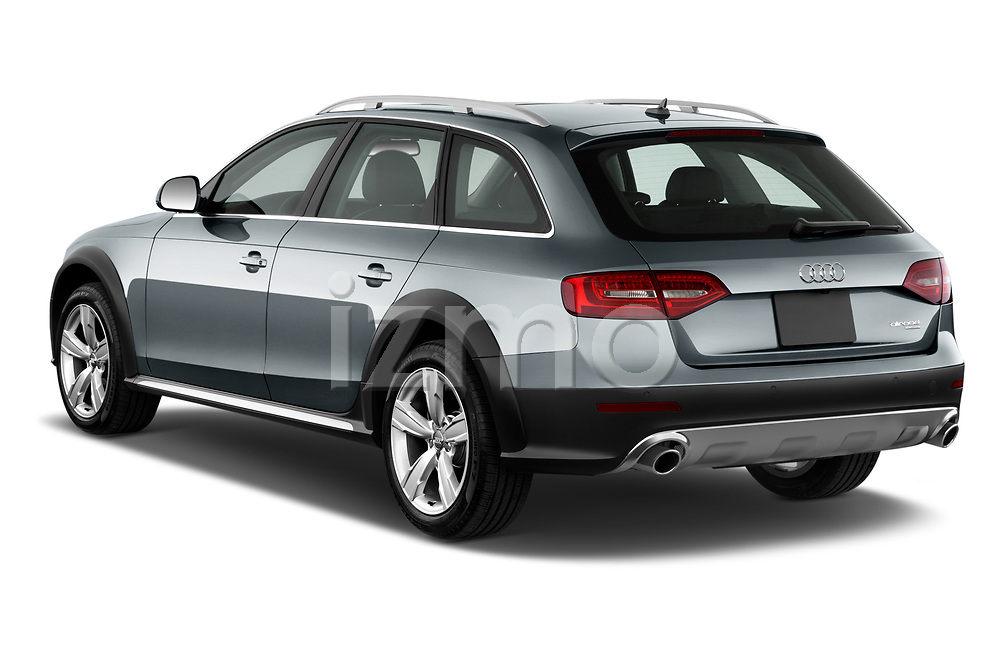 Car pictures of rear three quarter view of 2013-2016 Audi A4 Allroad Premium Quattro 4 Door Wagon angular rear