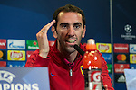 Atletico de Madrid's Diego Godin during the official press conference  before the Champions League match between Atletico de Madrid and PSV Eindhoven at Vicente Calderon Stadium in Madrid , Spain. November 22, 2016. (ALTERPHOTOS/Rodrigo Jimenez)