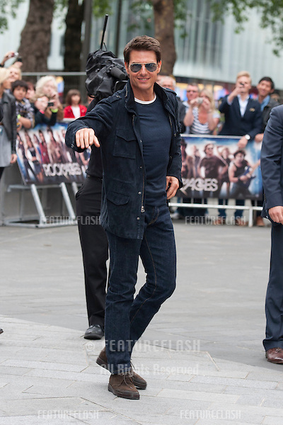 Tom Cruise arriving for the Rock Of Ages Premiere, Odeon Leicester Square, London. 10/06/2012 Picture by: Simon Burchell / Featureflash