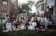 Cambridge, MA, September 7 1986. 350th anniversary celebration at Harvard University. - Harvard University, established in 1636, is the oldest institution of higher learning in the United States. Harvard's history, influence, and wealth have made it one of the most prestigious universities in the world.