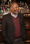 """Michael Potts attends the Broadway cast of """"The Iceman Cometh""""  Press Photocall at Delmonico's on April 11, 2018 in New York City."""