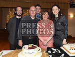 Rita Hanratty celebrating her 50th birthday in The Glenside Hotel with husband Declan, sons Matthew and Jason and daughter Sinead. Photo:Colin Bell/pressphotos.ie