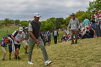 Tiger Woods (USA) heads to the tee on 4 during day 4 of the WGC Dell Match Play, at the Austin Country Club, Austin, Texas, USA. 3/30/2019.<br /> Picture: Golffile | Ken Murray<br /> <br /> <br /> All photo usage must carry mandatory copyright credit (© Golffile | Ken Murray)