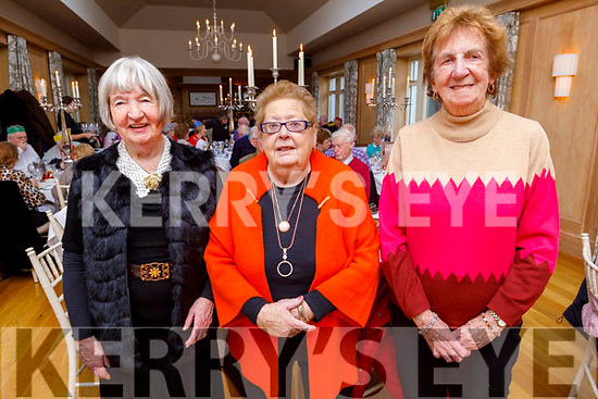 The Maloney sisters, Mary, Bridie and Kathleen from Tralee enjoying the Club Ide Tea Dance Club afternoon in the Ballygarry House Hotel on Sunday