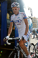 Arnaold Jeannesson during the stage of La Vuelta 2012 between Vilagarcia de Arousa and Mirador de Erazo (Dumbria).August 30,2012. (ALTERPHOTOS/Acero) /NortePhoto.com<br />