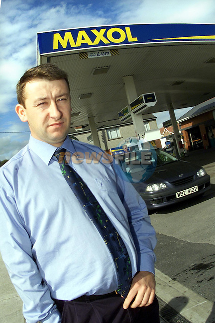 Colin Fee at the Maxol Service station in Dundalk..Picture: Paul Mohan/Newsfile