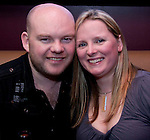 Tadhg Kelly and Jen Lindfield, celebrating their engagement in Barocco..Picture: Shane Maguire / www.newsfile.ie.