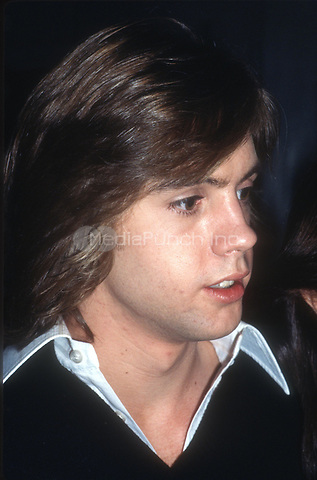 Shaun Cassidy 1981<br /> Photo By Adam Scull/PHOTOlink.net / MediaPunch