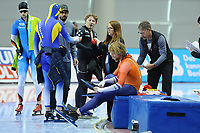 SPEEDSKATING: SALT LAKE CITY: 08-12-2017, Utah Olympic Oval, ISU World Cup, 500m Men B-Division, Michel Mulder (NED) DNS, materiaalpech, ©photo Martin de Jong