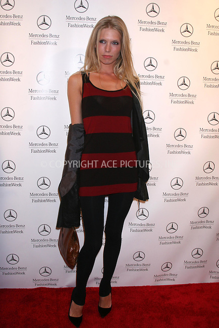 WWW.ACEPIXS.COM . . .  ....February 1, 2007. New York City.....Theodora Richards attends the Mercedes-Benz Fashion Week Fall 2007 Kick Off Party at The Box.......Please byline: JOHN WARD - ACEPIXS.COM......Ace Pictures, Inc:  ..(212) 243-8787 or 646 769 0430..e-mail: info@acepixs.com..web: http://www.acepixs.com