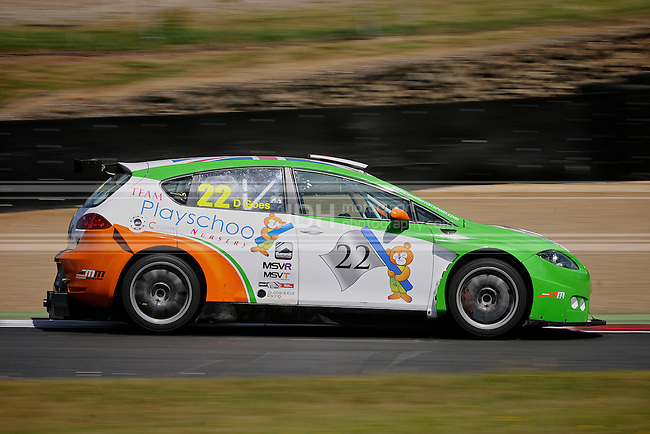 Darren Goes - Team Playschool Nursery SEAT Leon Supercopa