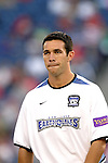04 September 2004: Ian Russell before the game. The San Jose Earthquakes defeated the New England Revolution 1-0 at Gillette Stadium in Foxboro, MA during a regular season Major League Soccer game..