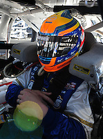 Apr 10, 2008; Avondale, AZ, USA; NASCAR Sprint Cup Series driver Michael McDowell during practice for the Subway Fresh Fit 500 at Phoenix International Raceway. Mandatory Credit: Mark J. Rebilas-