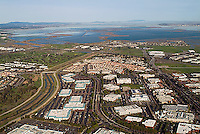 aerial photograph San Jose, Milpitas, San Clara county, California
