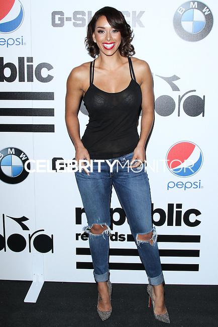 WEST HOLLYWOOD, CA - JANUARY 26: Gloria Govan at the Republic Records 2014 GRAMMY Awards Party held at 1 OAK on January 26, 2014 in West Hollywood, California. (Photo by David Acosta/Celebrity Monitor)