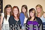 Amy Holland, Sarah O'Mahony, Lisa Griffin, Stacey O'Mahony and Ashling Cronin Killarney enjoying the Lily of Killarney in the Gleneagle Hotel on Friday night