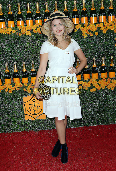 17 October 2015 - Pacific Palisades, California - Poppy Jamie. Sixth-Annual Veuve Clicquot Polo Classic, Los Angeles held at Will Rogers State Historic Park. <br /> CAP/ADM/FS<br /> &copy;FS/ADM/Capital Pictures