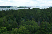 Jewell Island, Casco Bay off the Coast of Portland Maine. WWII installations.