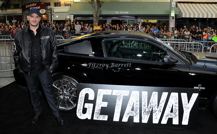 Courtney solomon at the Los Angels premiere of Getaway held at the Regency Village Theater August 26, 2013
