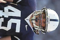 06 October 2007:  Penn State LB Sean Lee (45) had 11 tackles.  The Penn State Nittany Lions defeated the Iowa Hawkeyes 27-7 October 6, 2007 at Beaver Stadium in State College, PA..