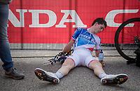 Rudy Molard (FRA/FDJ) post-finish<br /> <br /> 98th Milano - Torino 2017 (ITA) 186km