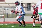 Palos Verdes, CA 03/17/10 - Peter Loddengaard (PV # 1) and Carlos Mendoza (Downey # 9)