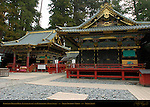 Kaguraden Dance Stage Kitouden Prayer Hall Kamishamusho Nikko Toshogu Shrine Nikko Japan